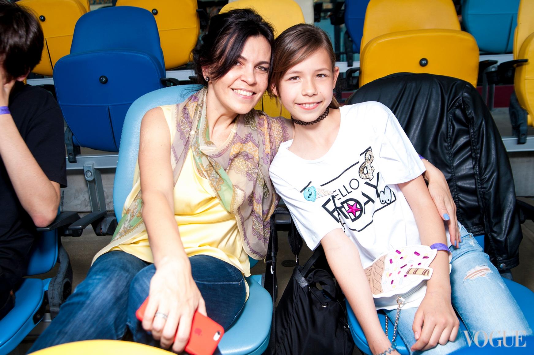 Светлана Макеенко с дочерью Марией