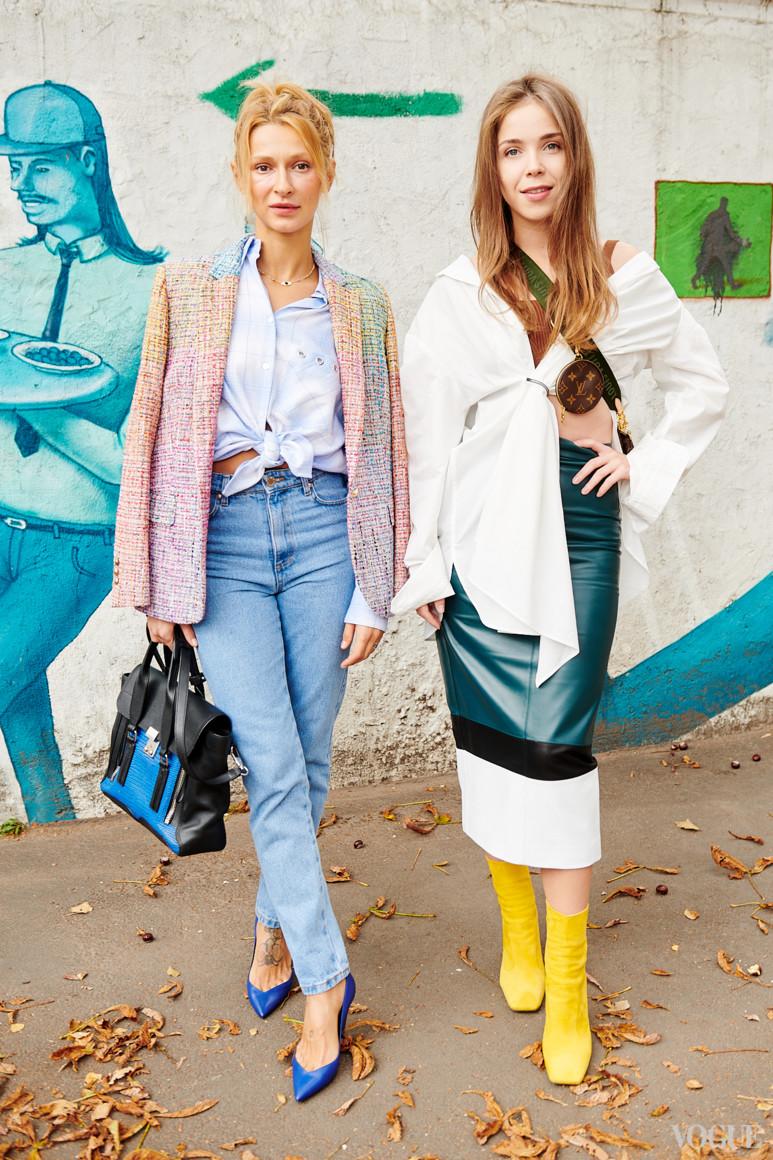 Татьяна Решетняк (слева)