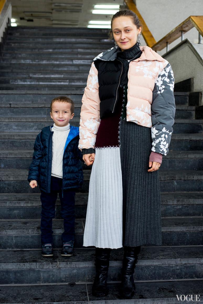 Дарья Шаповалова с сыном Давидом