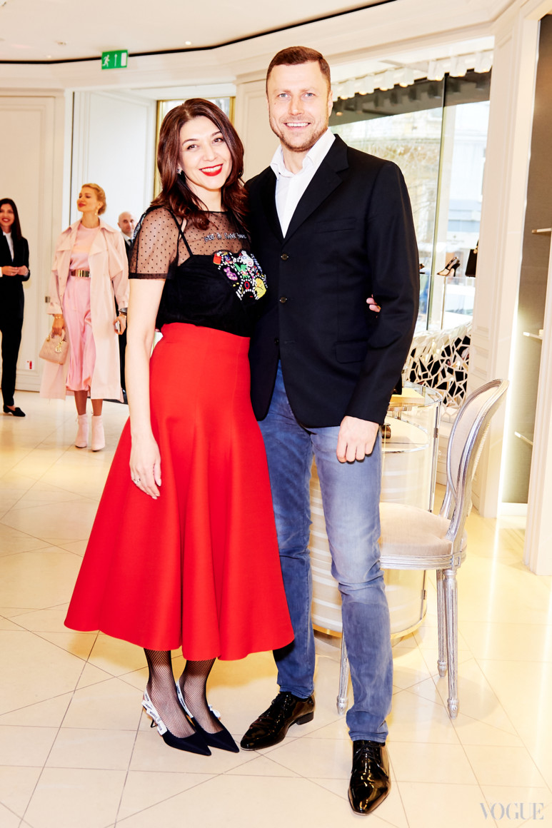 Ольга Дашкиева и Богдан Трибой