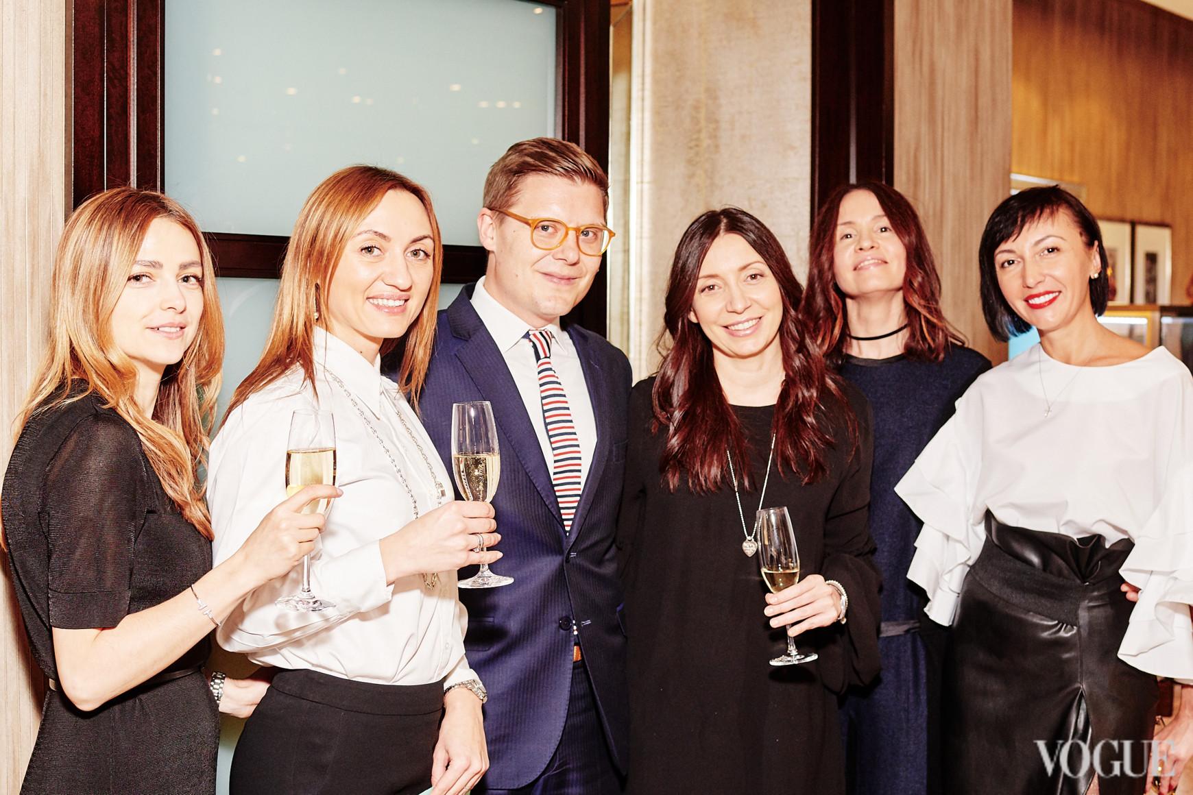 Мартин Класенс и команда Tiffany & Co