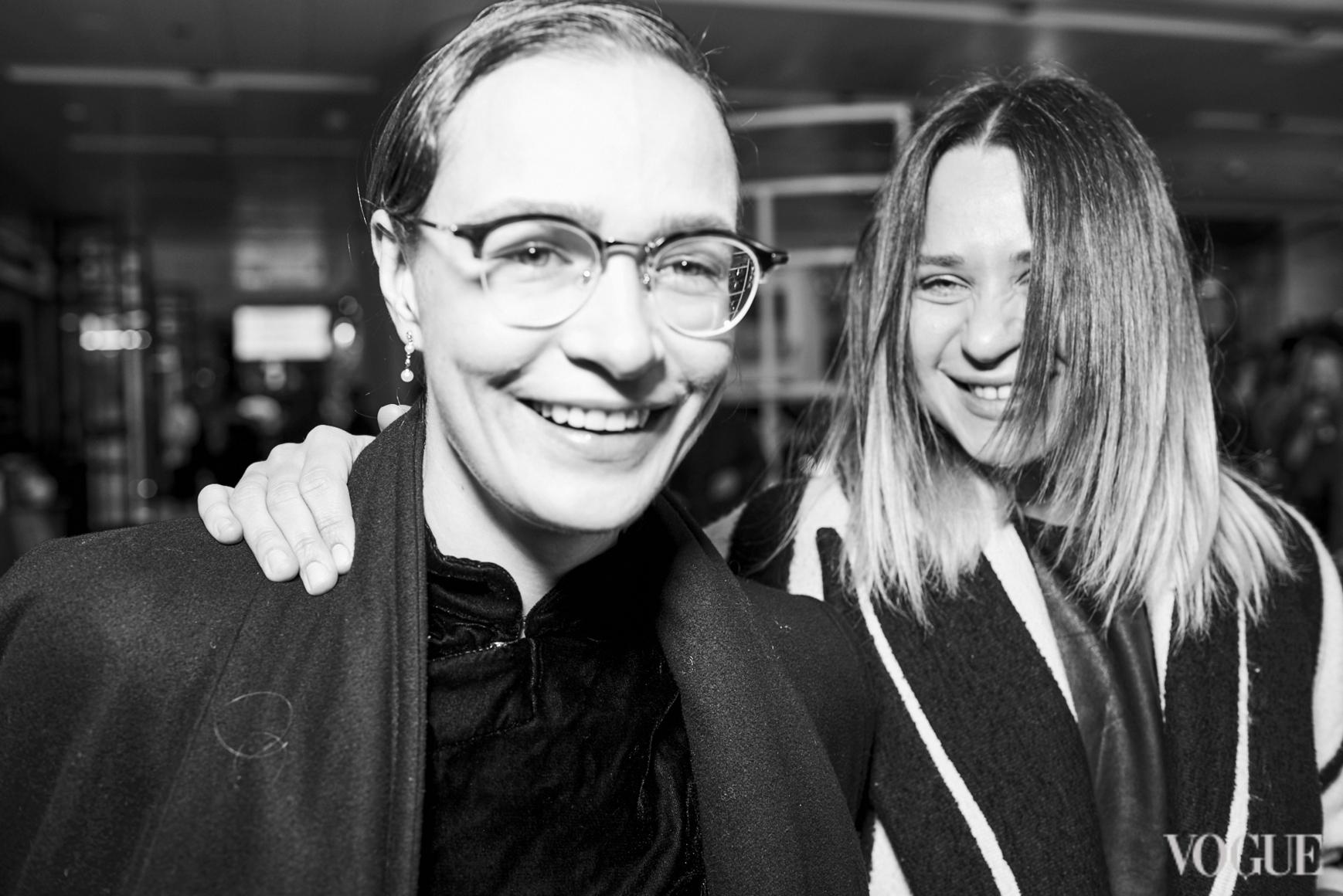 Надежда Шаповал и Ксения Каргина