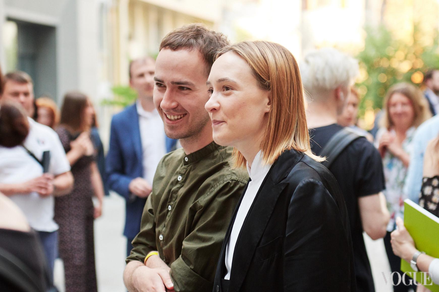Максим Назаров и Ольга Сушко