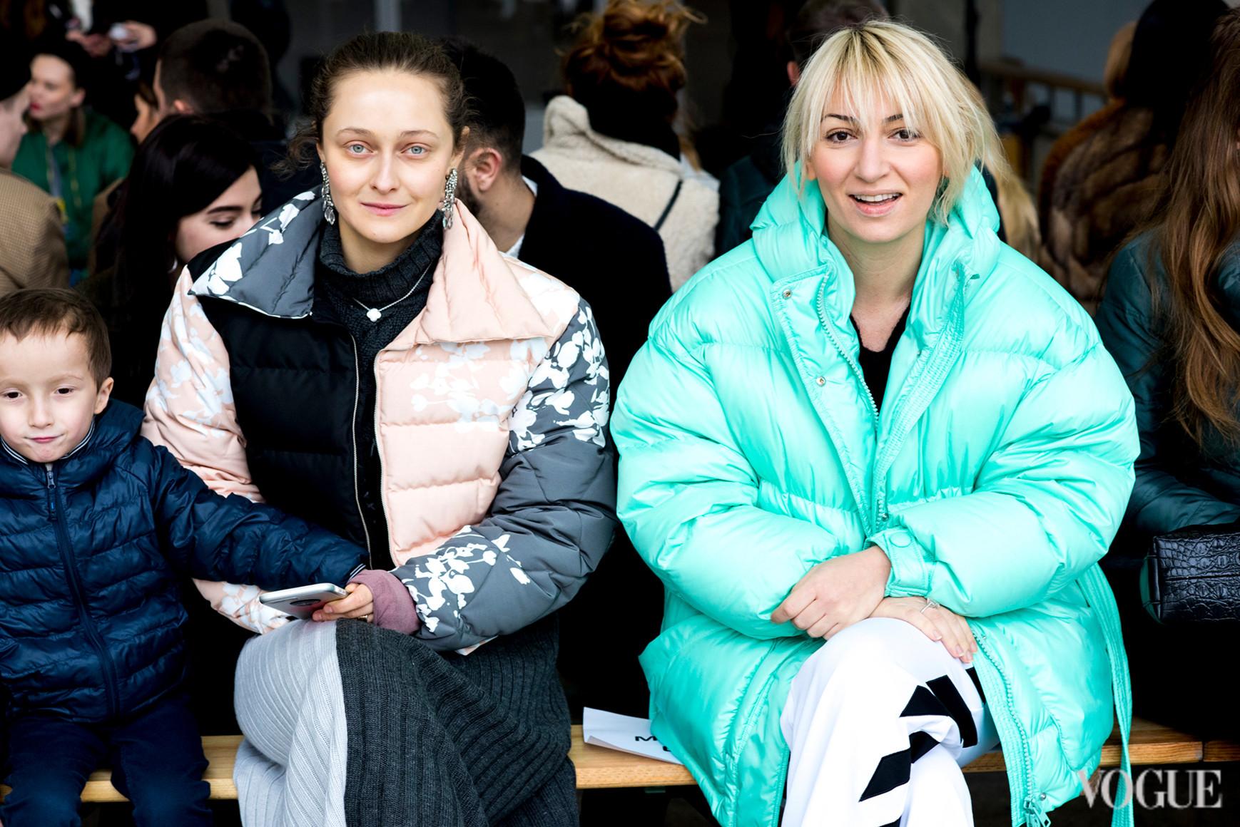 Дарья Шаповалова и Ася Мхитарян