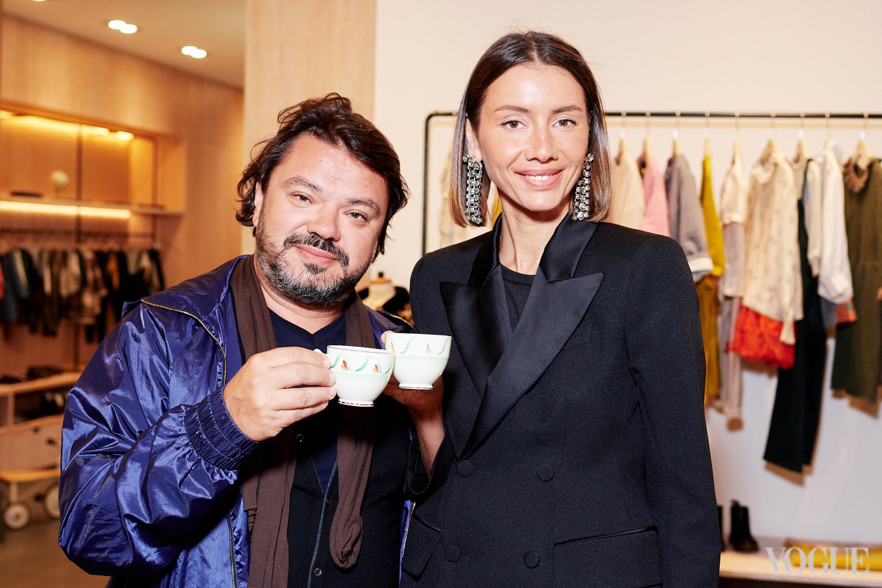 Николай Кузьма и Юлия Пелипас