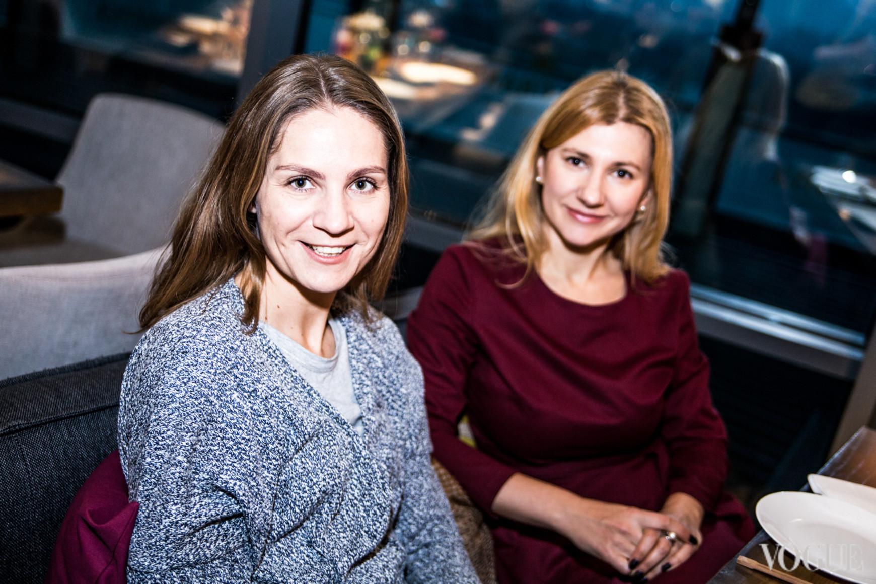 Алина Котенко и Катерина Бакуменко