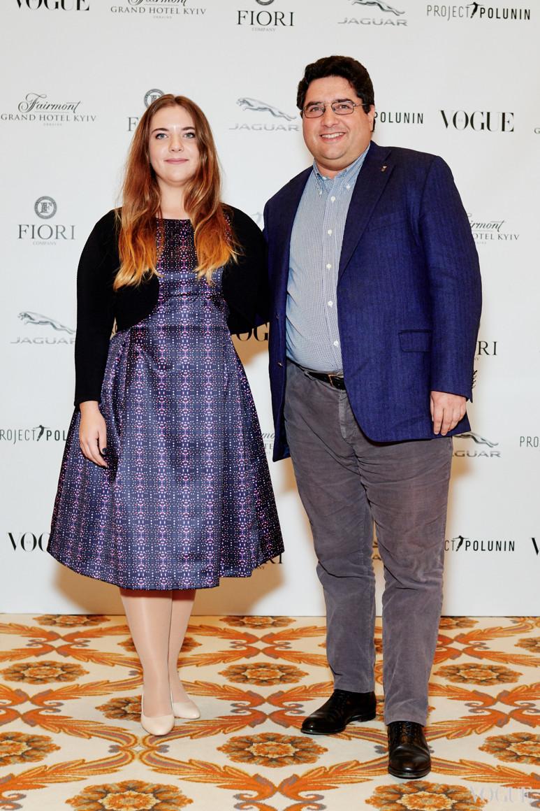 Александр Гороховский с дочерью