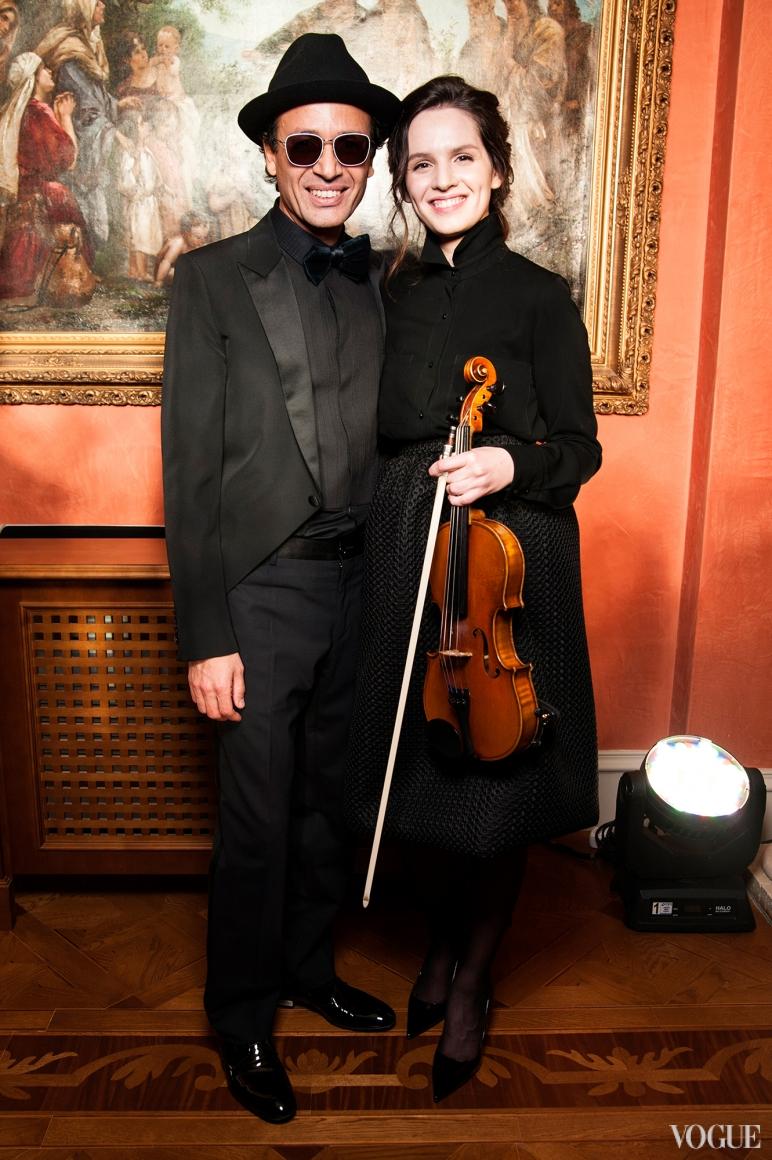 Омар Арфуш и Анна Бондаренко
