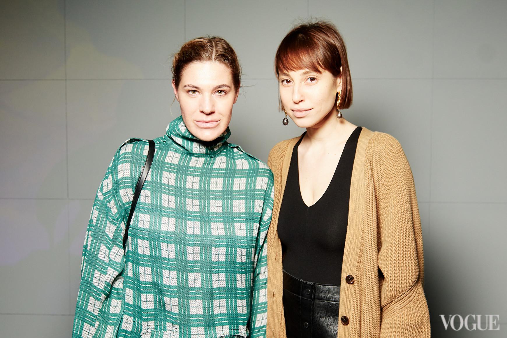Наталья Каменская (справа)