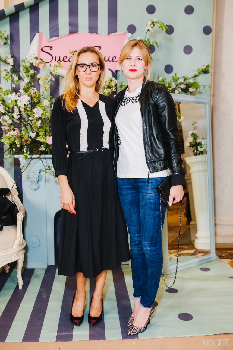 Яна Помазан (слева)