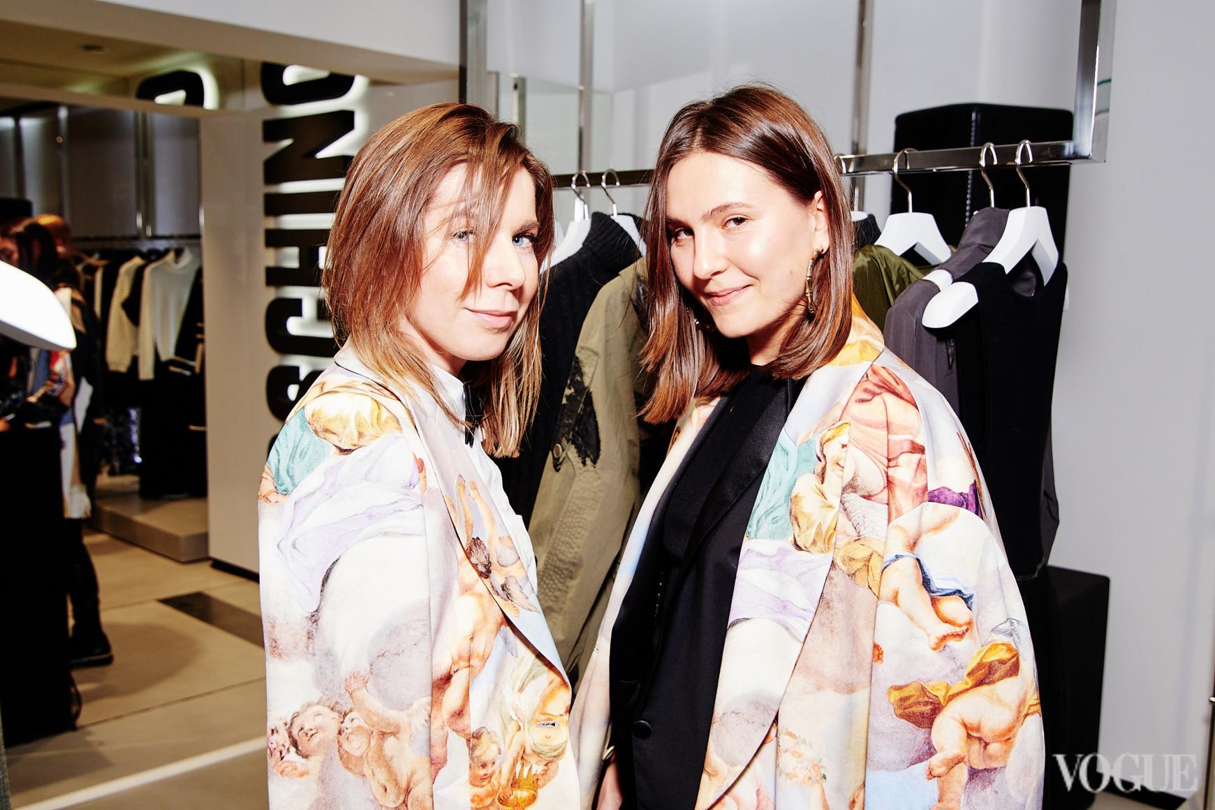 Ольга Топольницкая и Елена Дьяченко