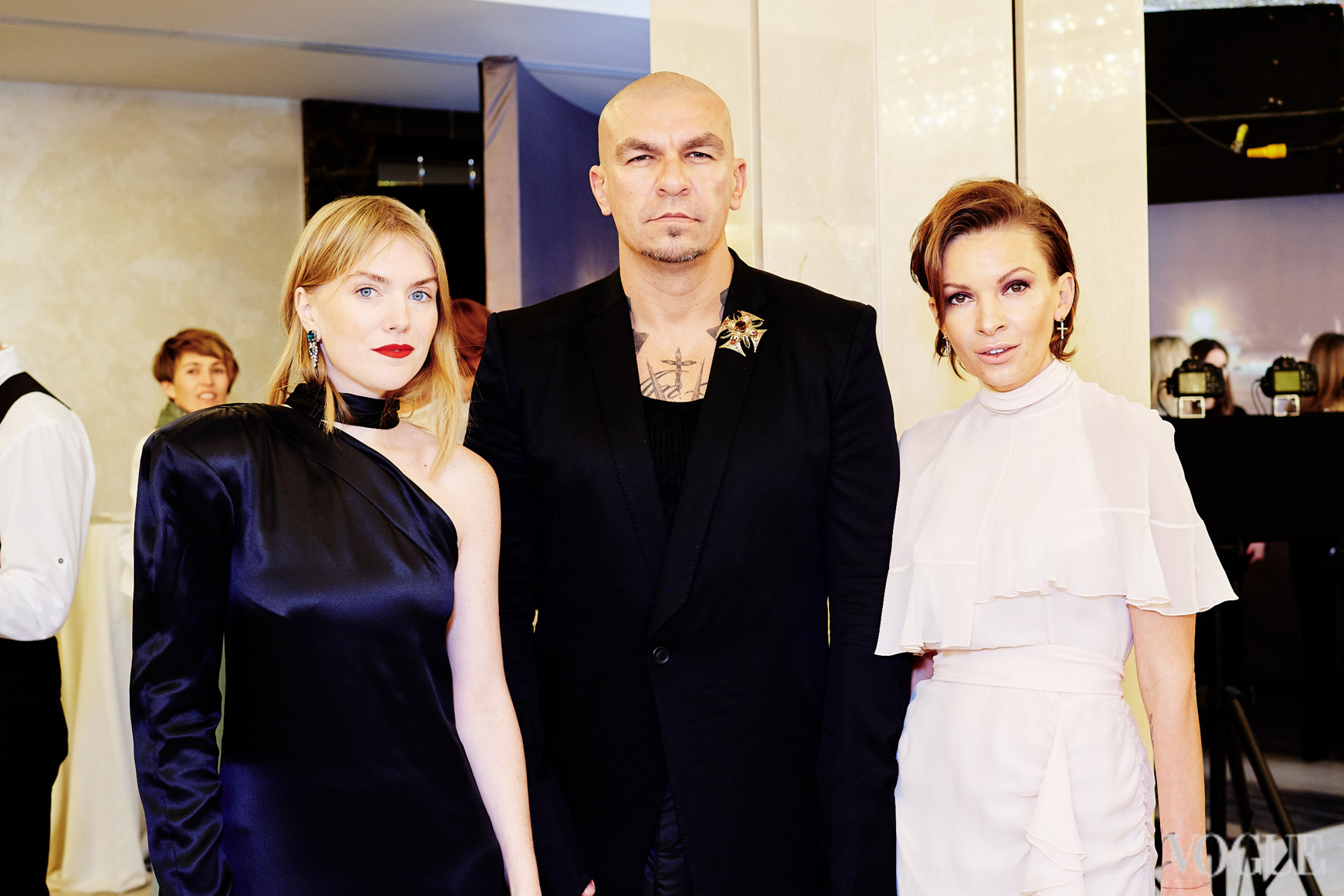 Лиля Литковская, Юрий Чернецкий и Полина Неня