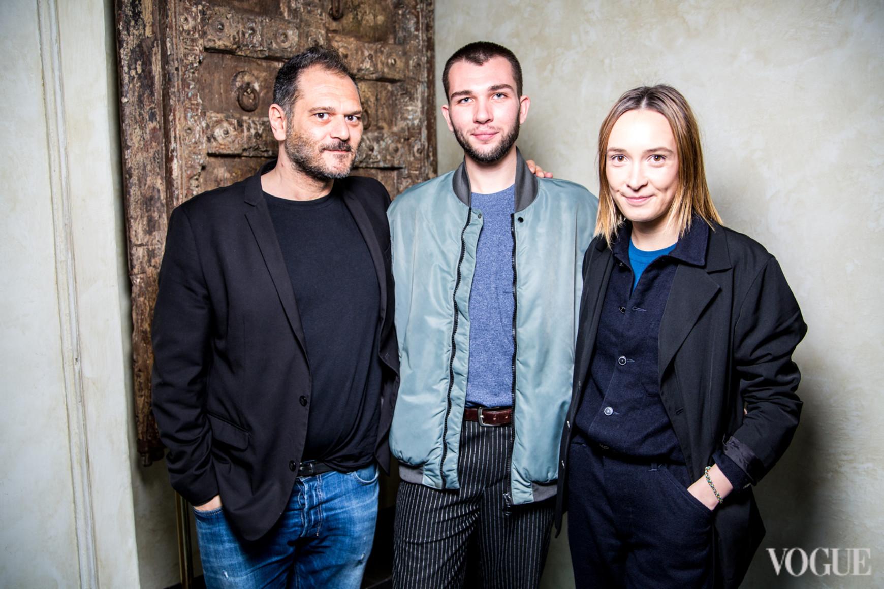 Данило Вентури, Алекс Барков и Ольга Сушко