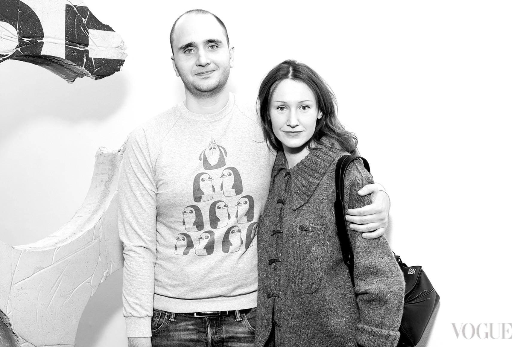 Алексей Тарасов и Василина Врублевская