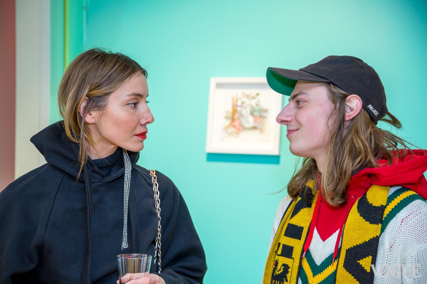 Юлия Пелипас и Никита Середа