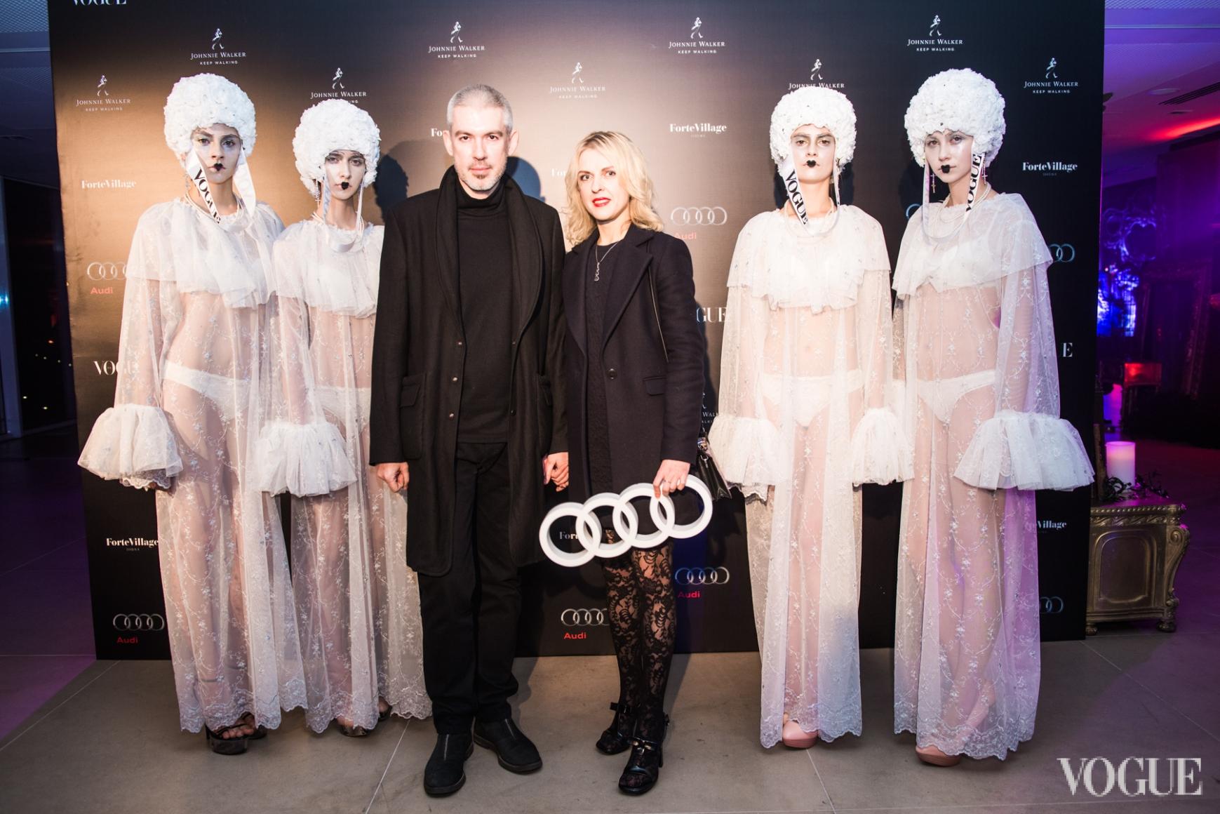 Филипп Власов и Юлия Костецкая