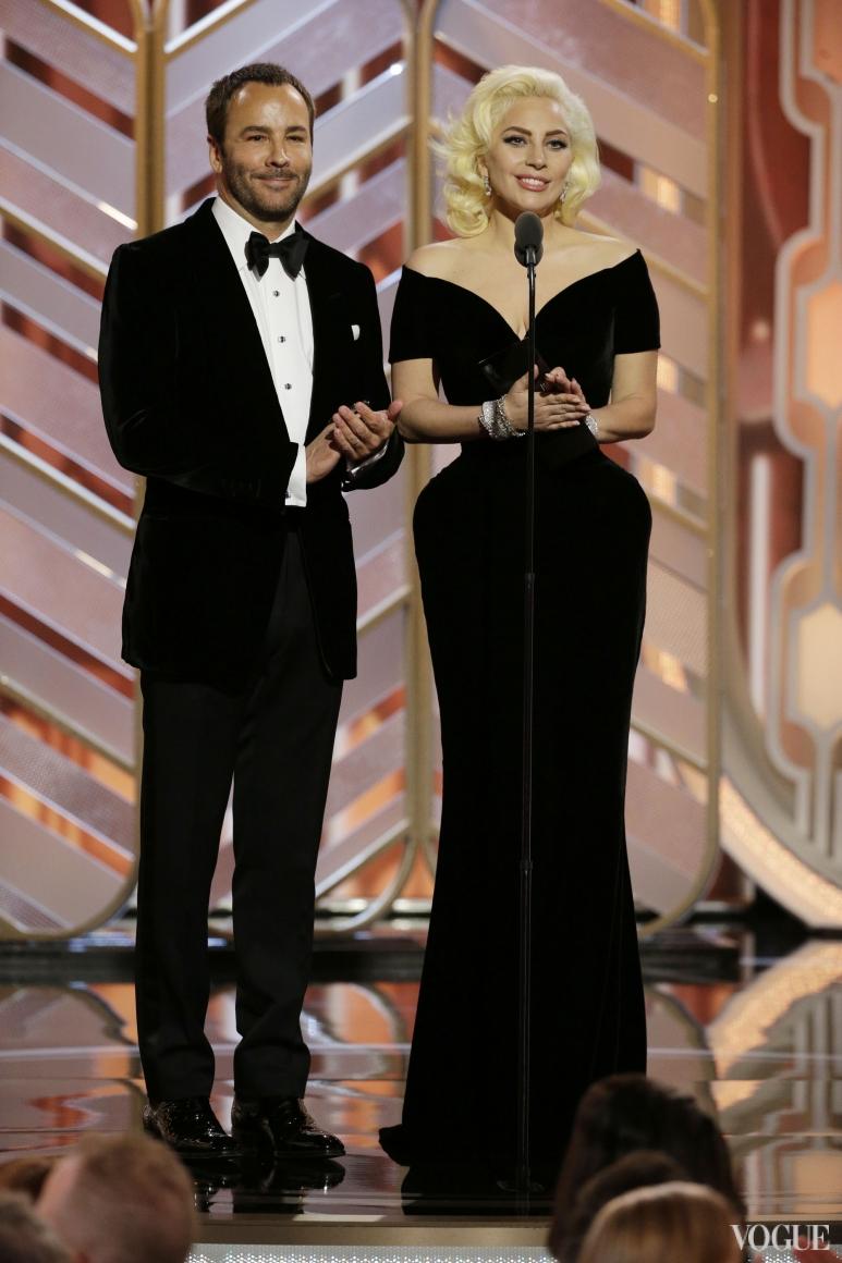 Леди Гага и Том Форд