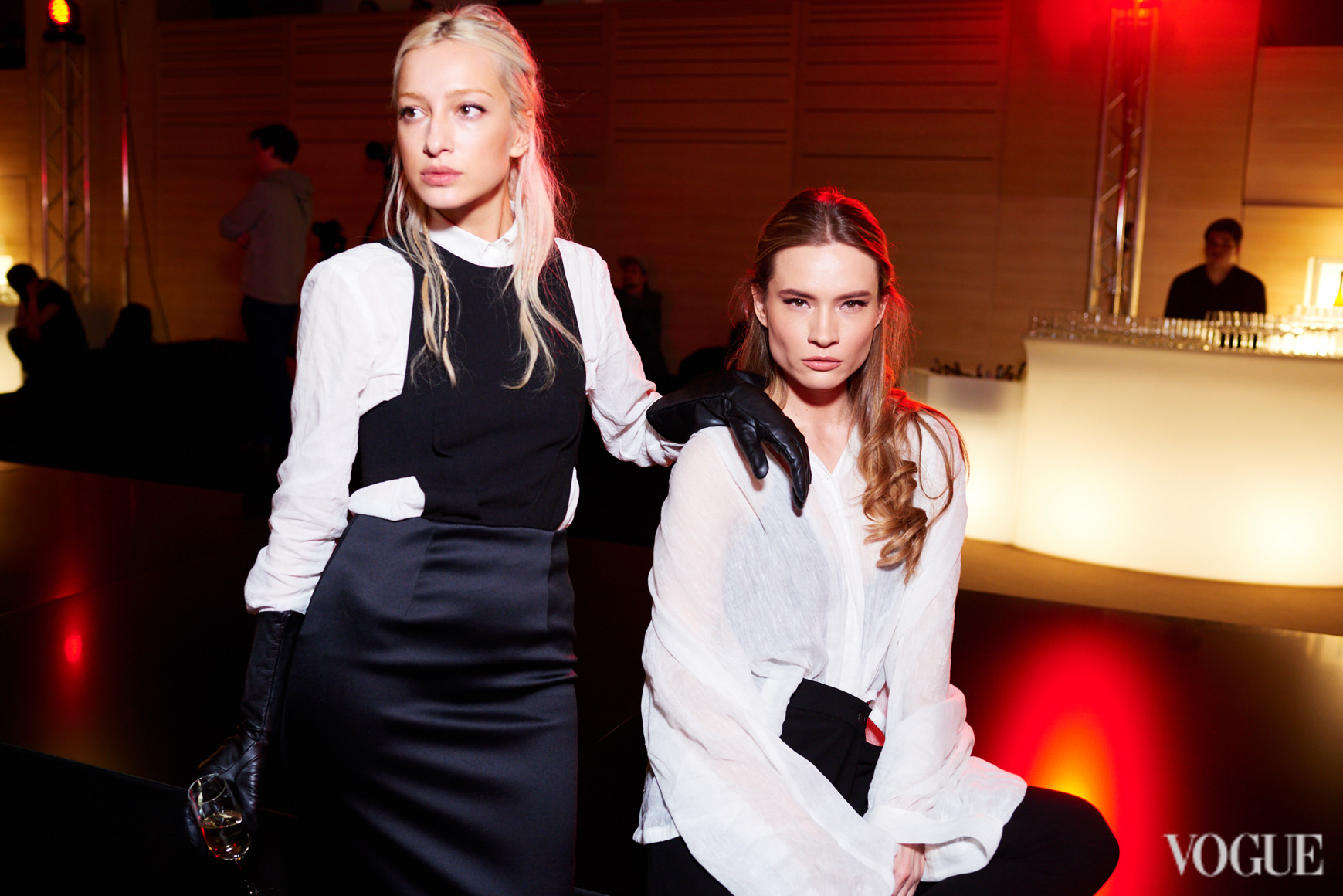 Олимпия Вайтмусташ и Татьяна Богдан