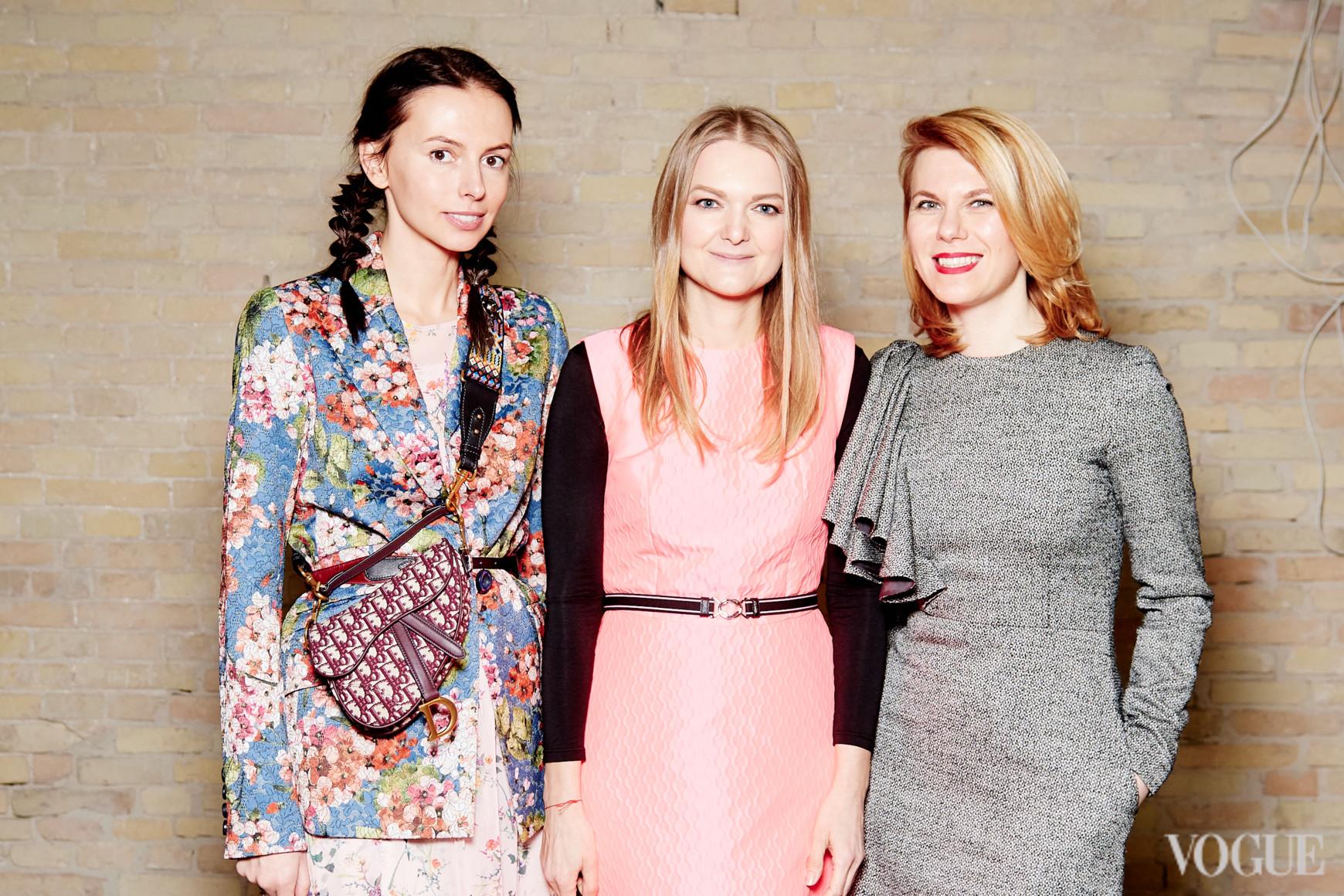 Надежда Елько, Вера Титова и Наталья Листопад