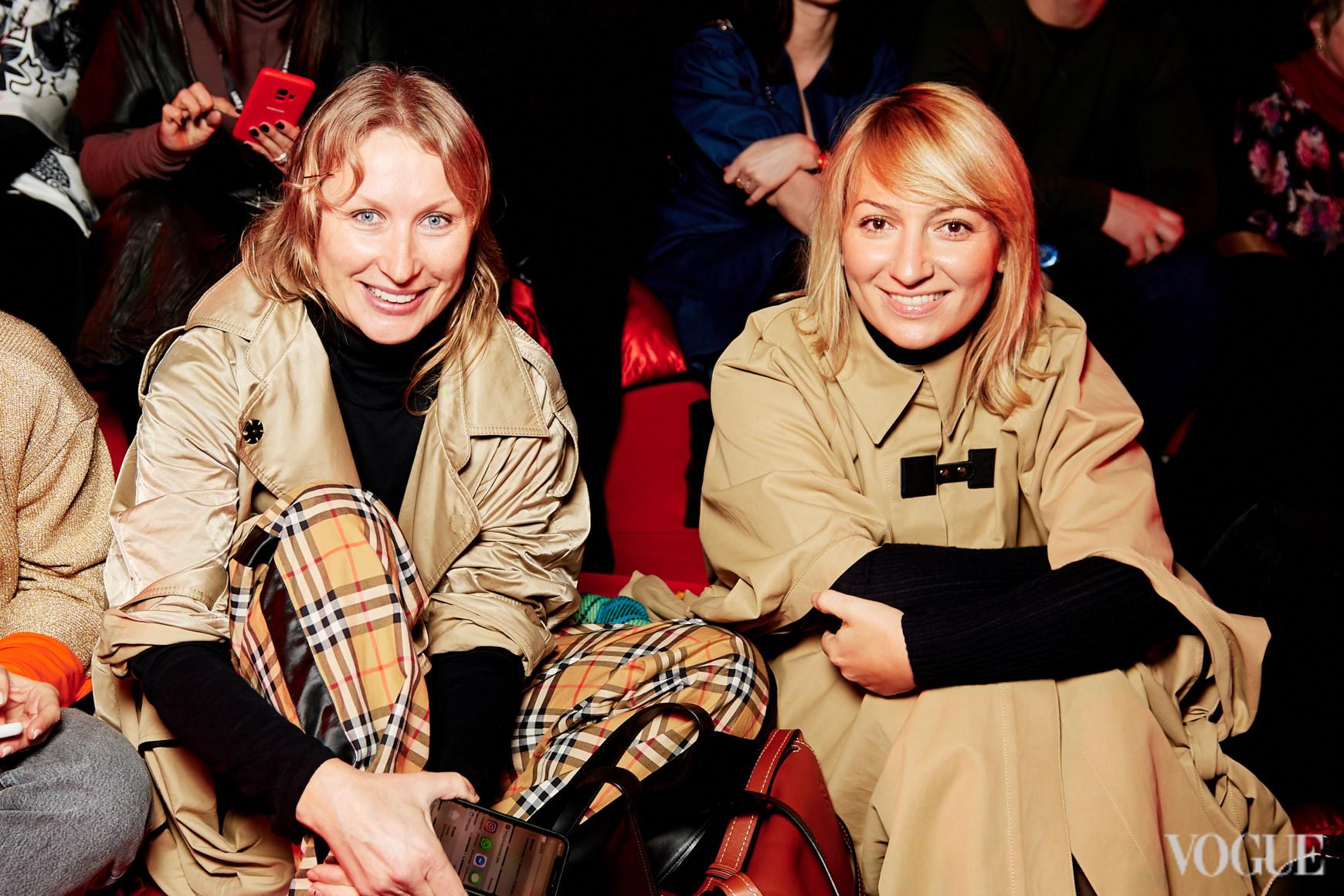 Ольга Козловская и Ася Мхитарян