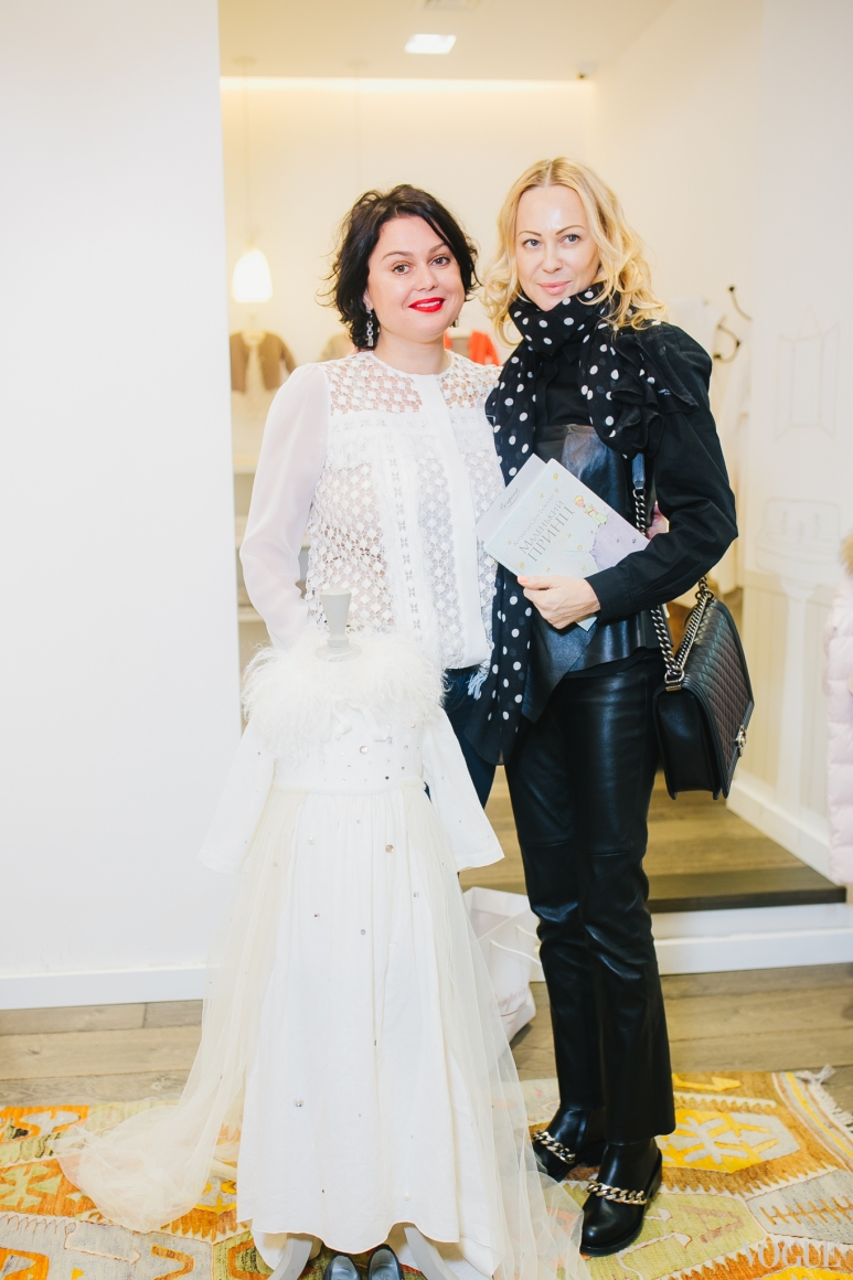 Хрыстя Храновская и Ольга Аленова