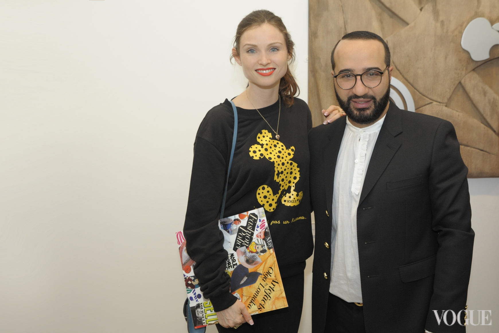 Софи Эллис-Бекстор и Дмитрий Чограши