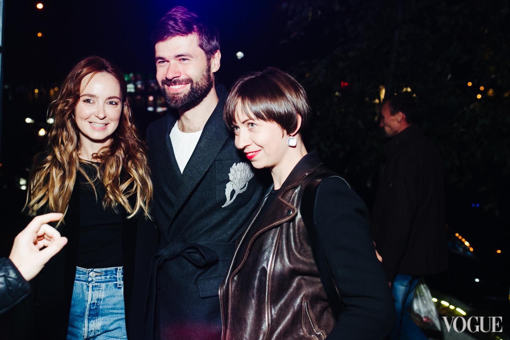 Анастасия Рябоконь, Владимир Задирака и Олеся Кононова