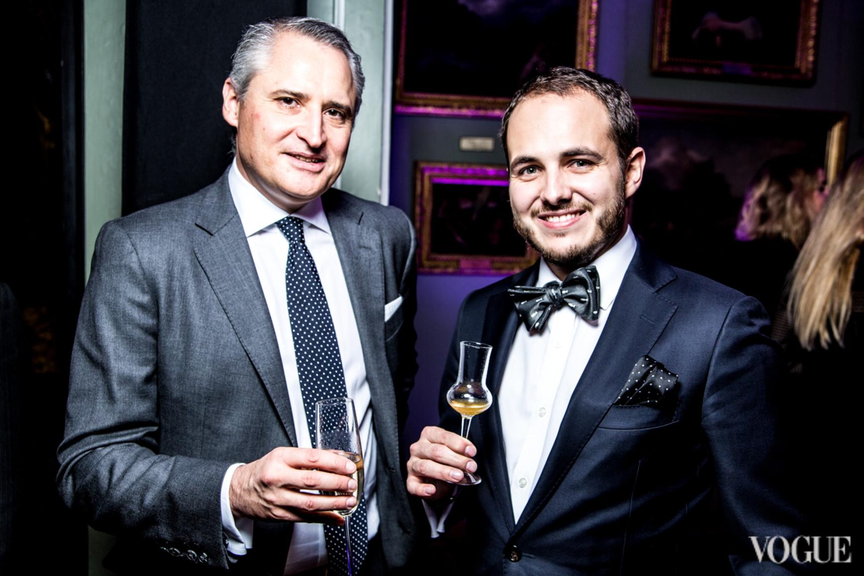 Жан Кристоф Каттин (слева)