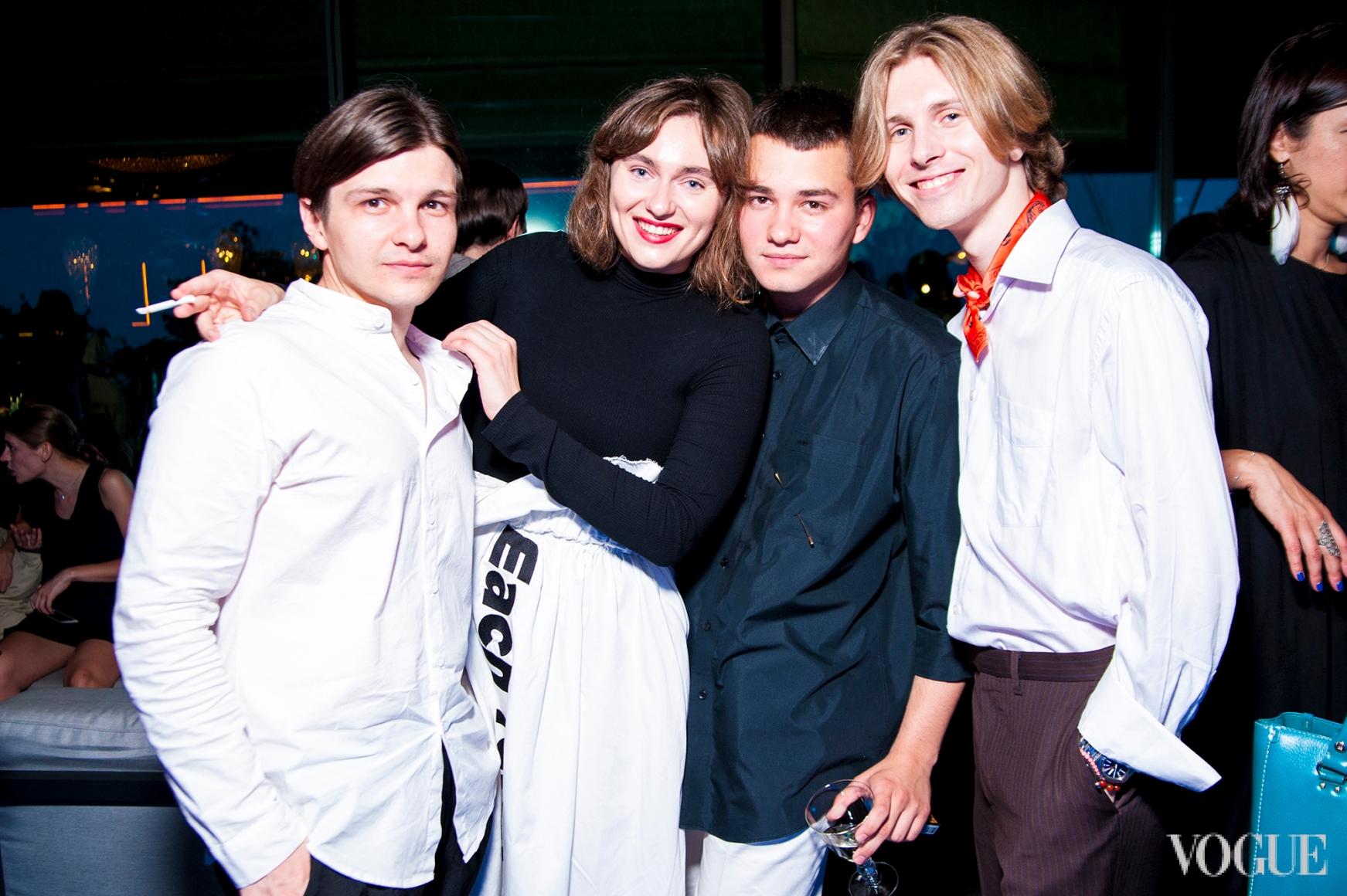 Сергей Ковалев, Юлия Полященко, Иван Фролов, Юрий Амососв