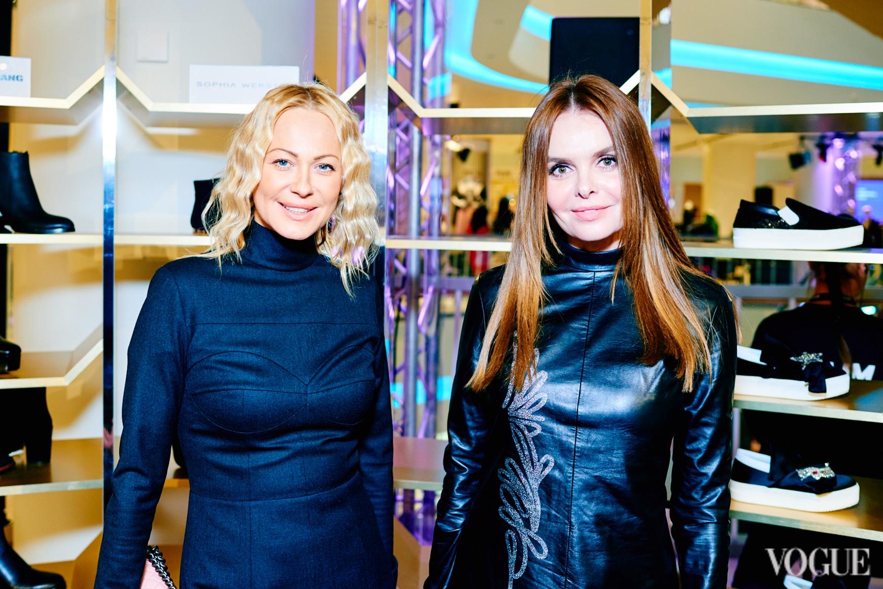 Ольга Аленова и Ольга Олексенко
