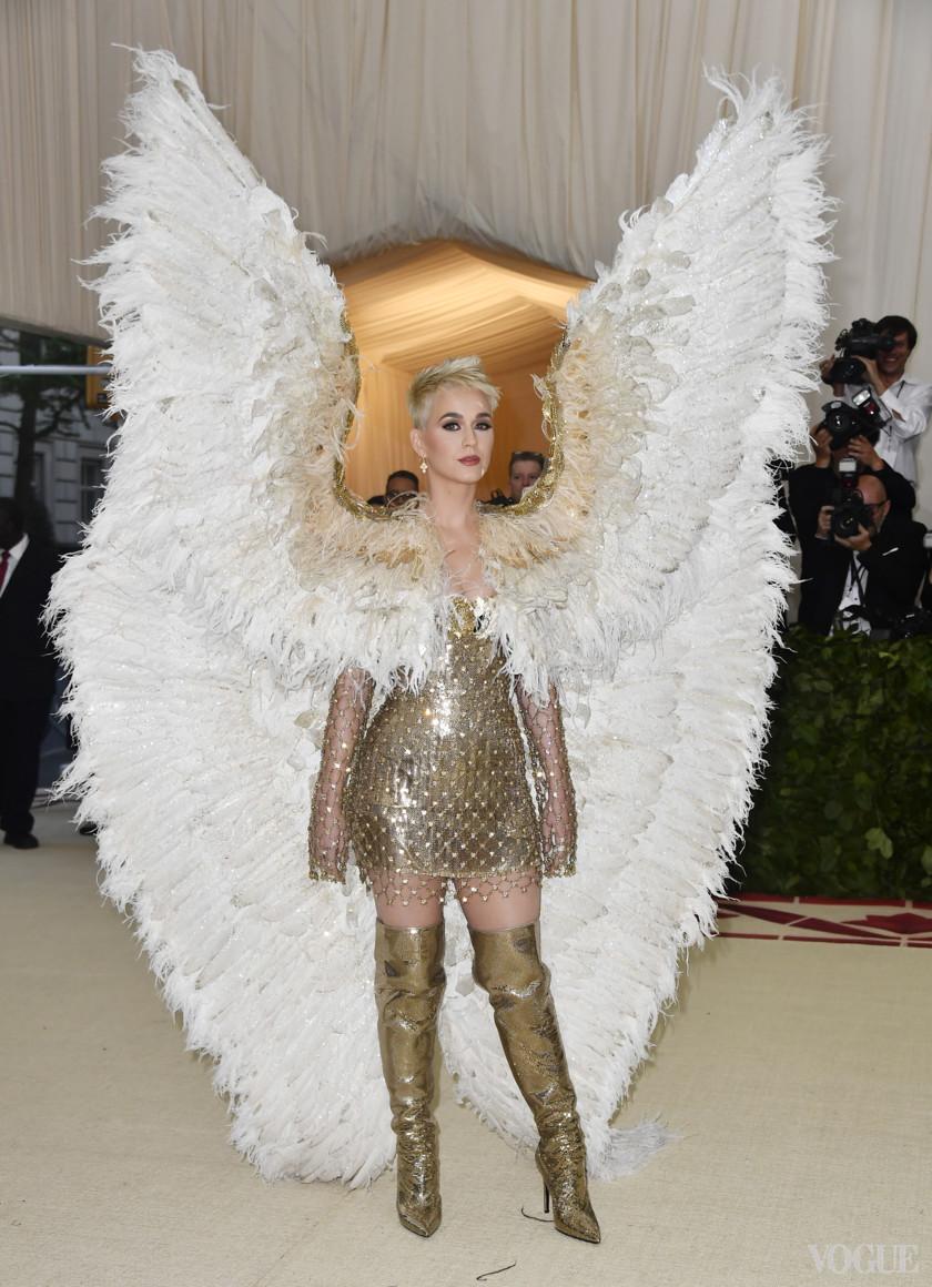 Кэти Перри в Atelier Versace