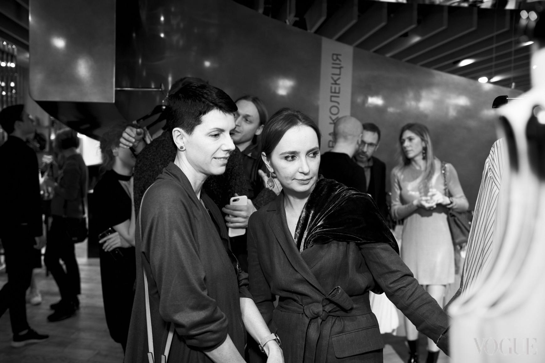 Марина Щербенко и Анастасия Рябоконь