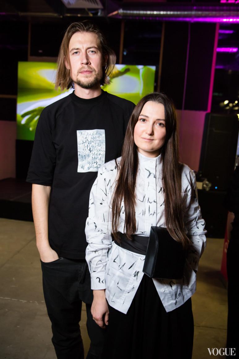 Максим Голуб и Катерина Бякова