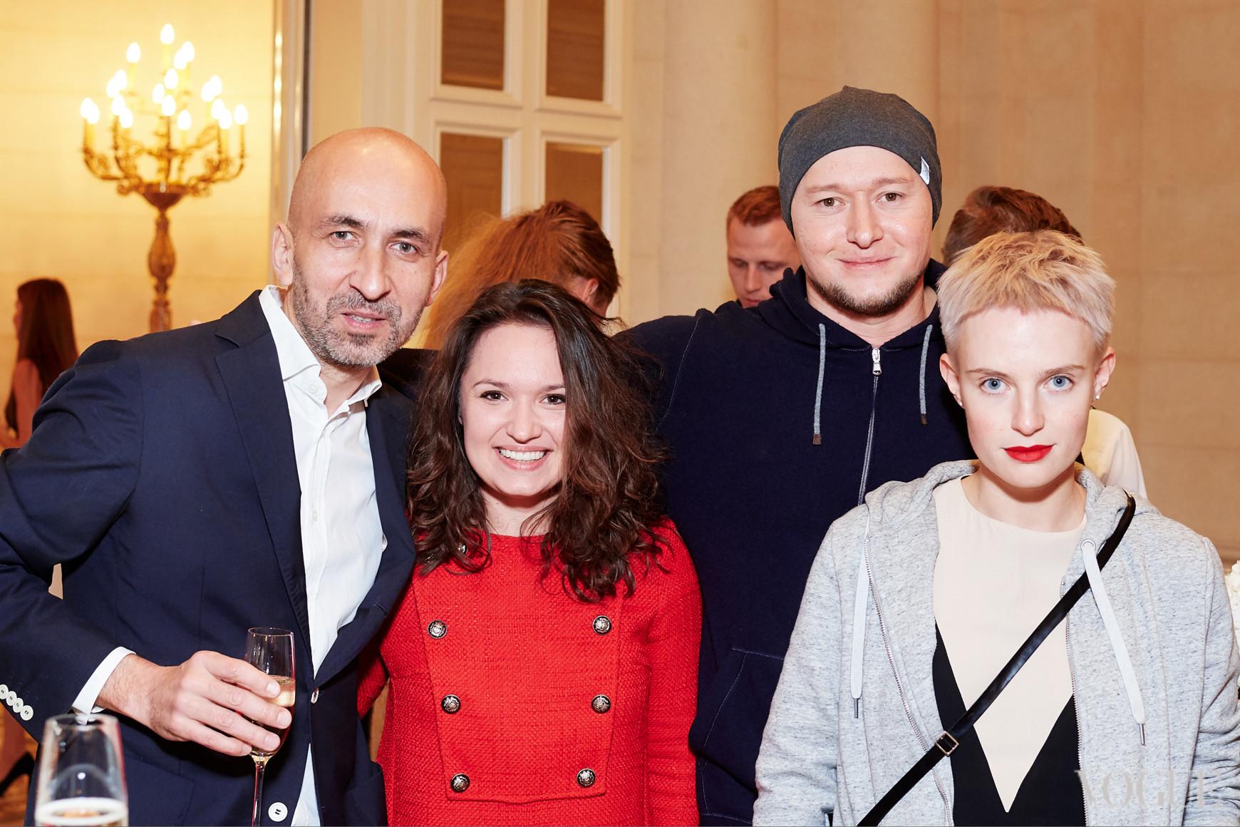 Орест Слипак, Андрей Хлывнюк и Анна Копылова