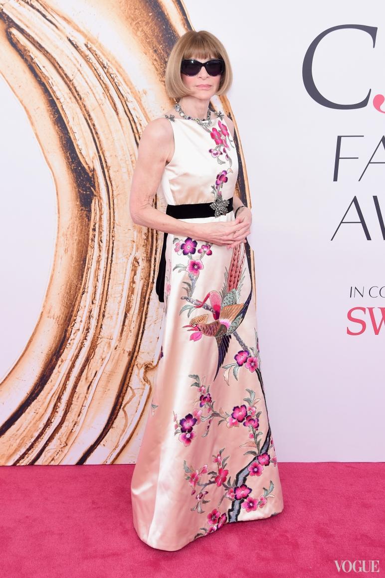 Анна Винтур в Gucci