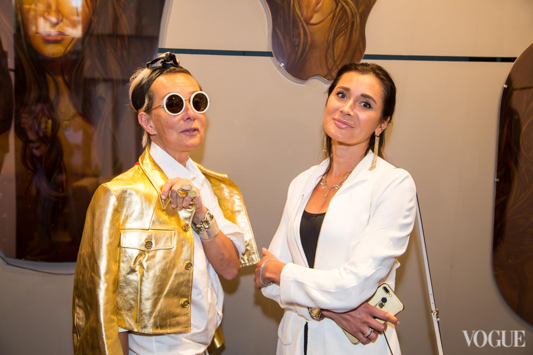 Татьяна Полякова и Ольга Филатова