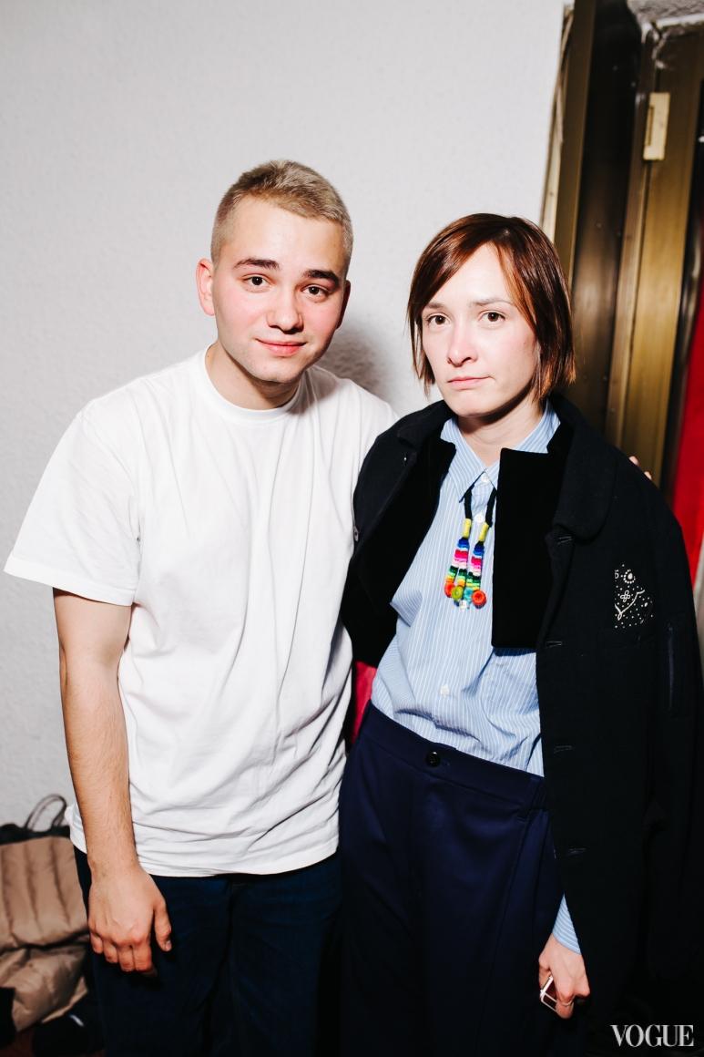 Иван Фролов и Ольга Сушко