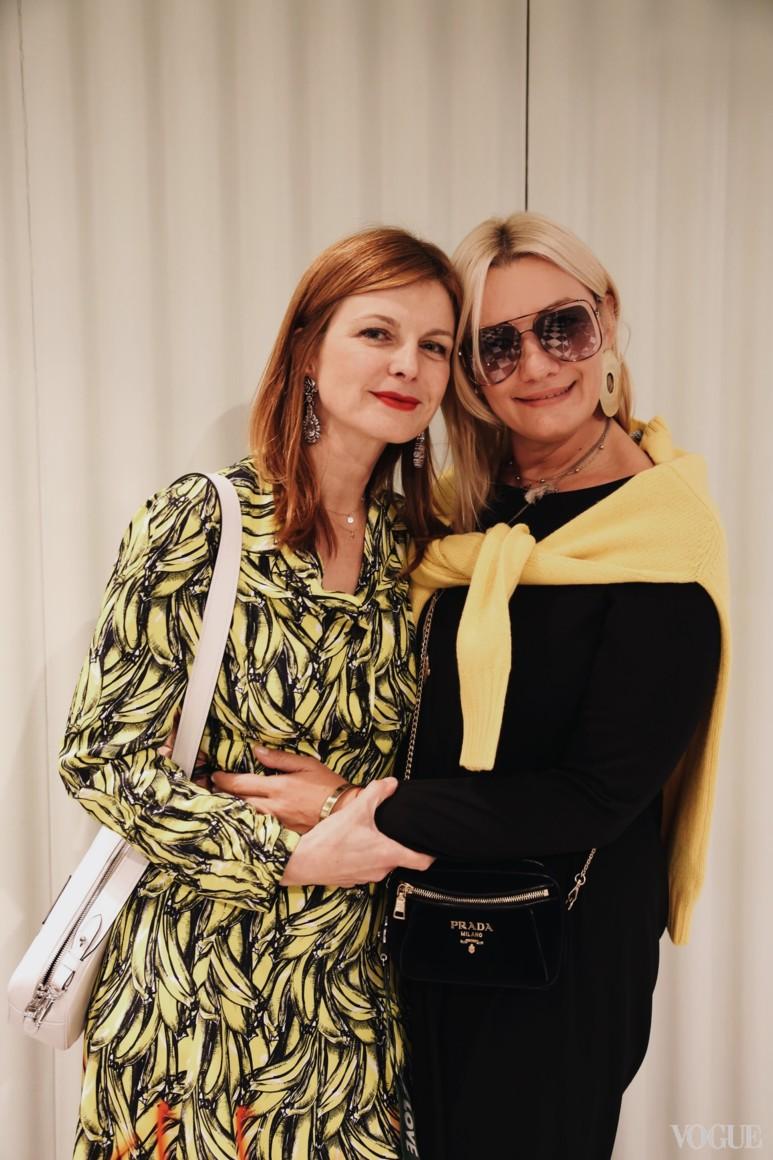Катерина Кулик и Ирина Ковальчук