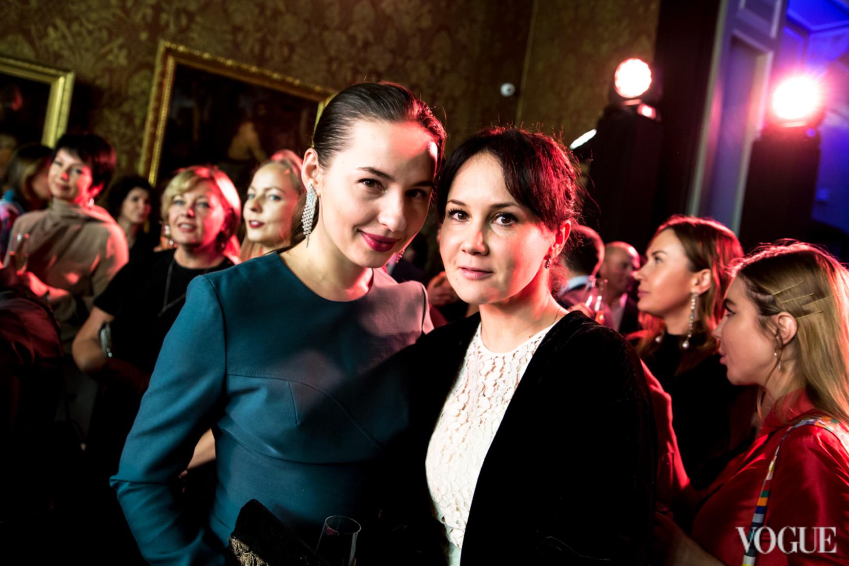 Виолетта Федорова и Анастасия Яворская