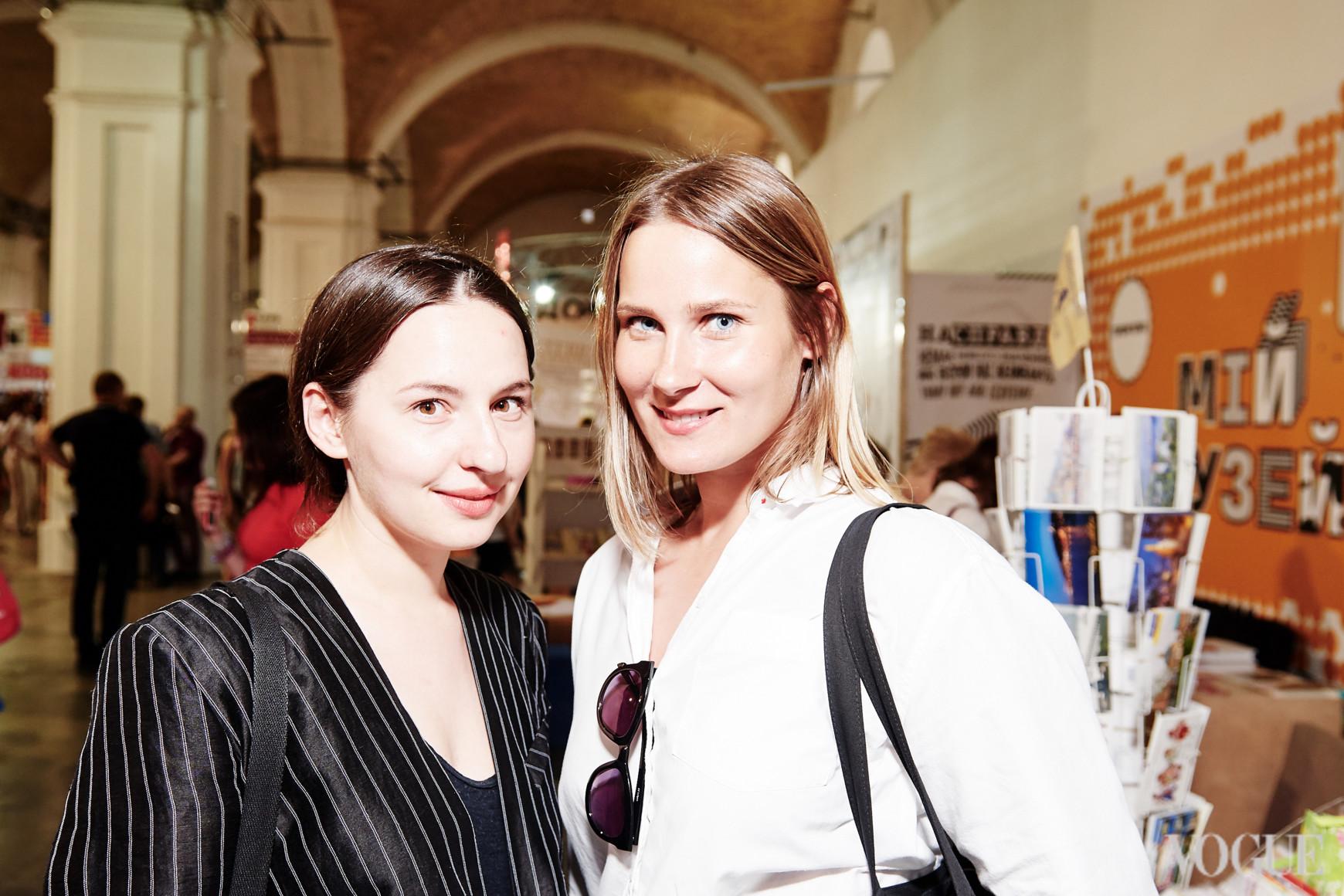 Виолетта Федорова и Полина Митлошук