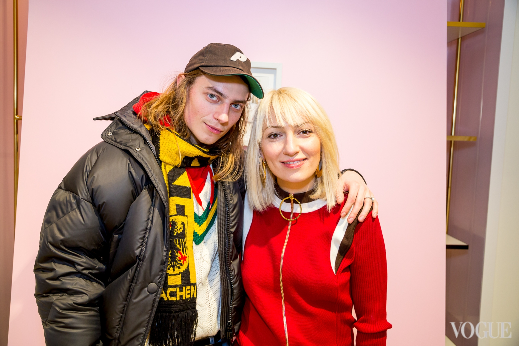 Никита Середа и Ася Мхитарян