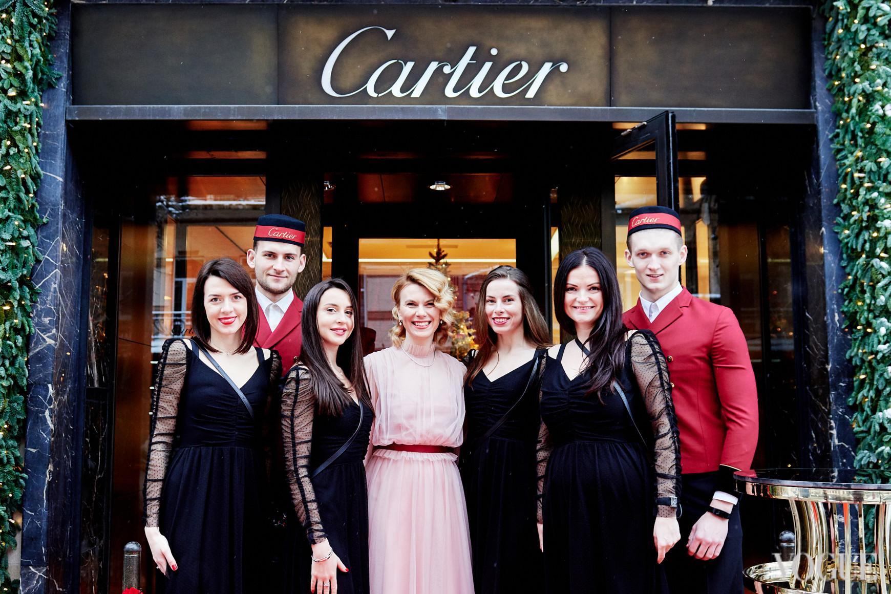 Команда киевского бутика Cartier