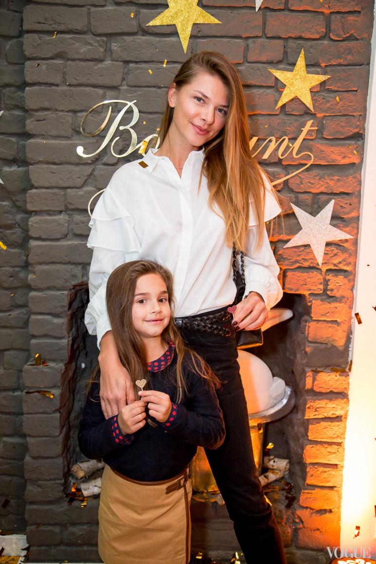 Юлиана Дементьева с дочерью