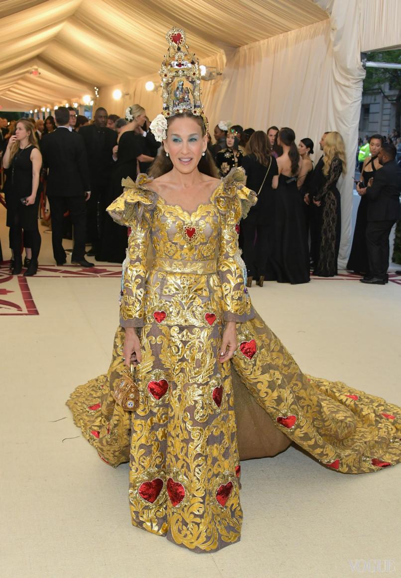 Сара Джессіка Паркер в Dolce&Gabbana