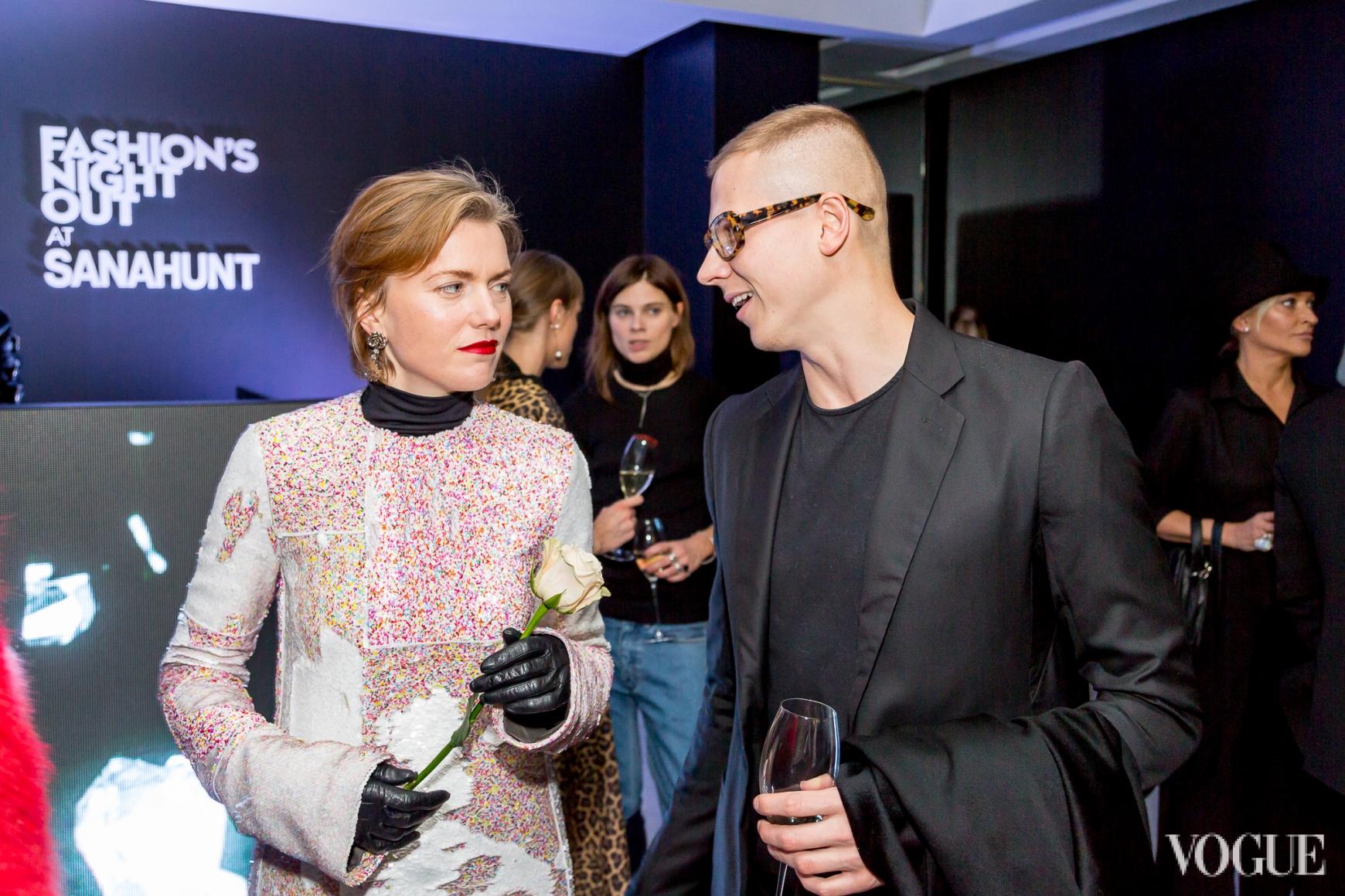 Лиля Литковская и Веня Брыкалин