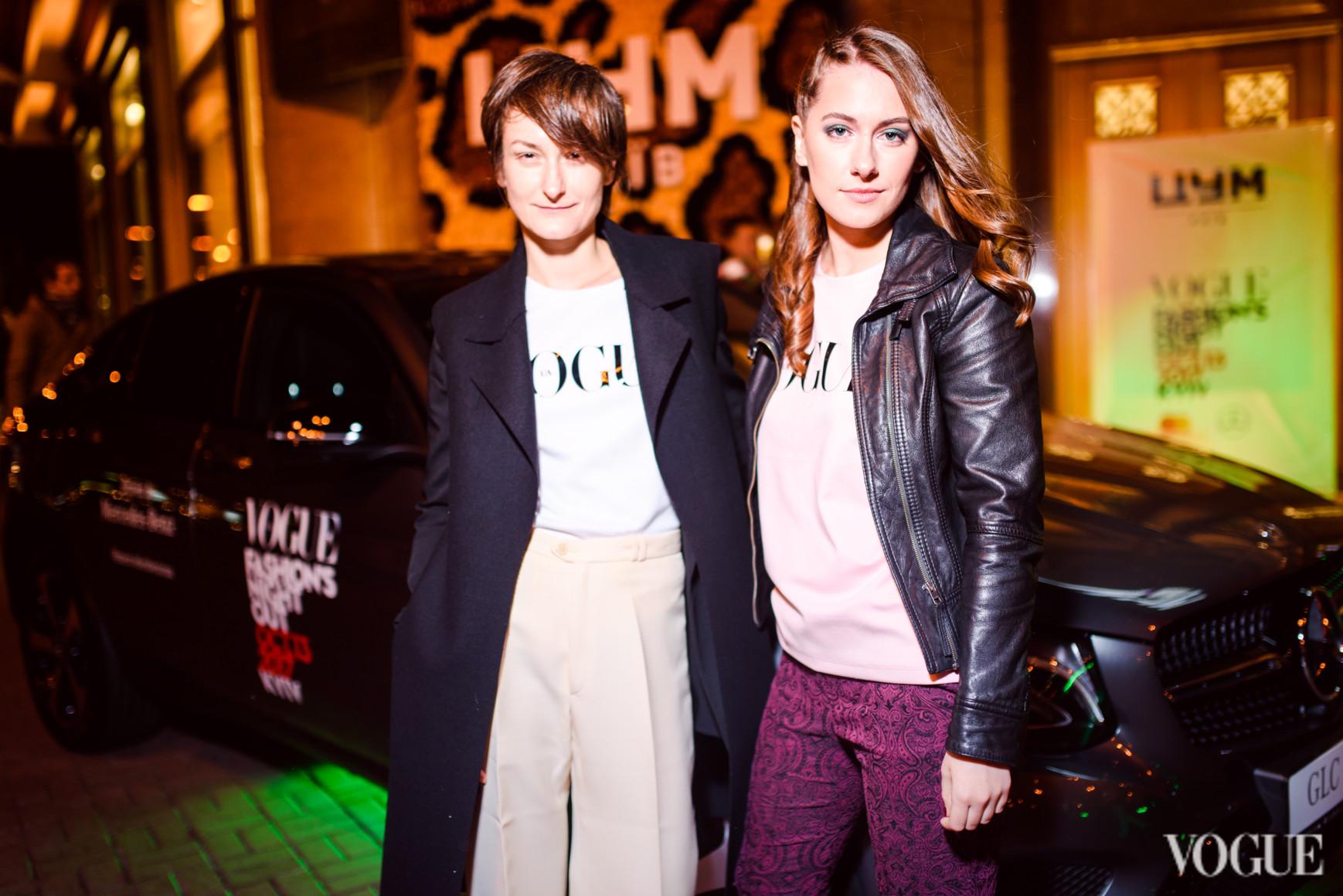 Татьяна Соловей и Мария Жданова