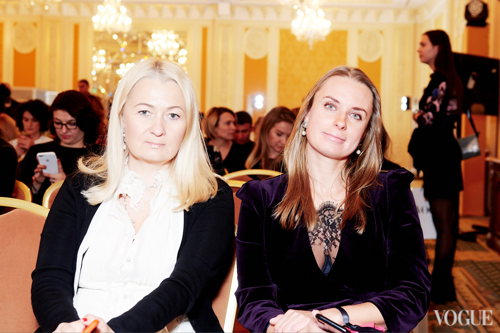 Лідія Філатова і Наталія Волошина