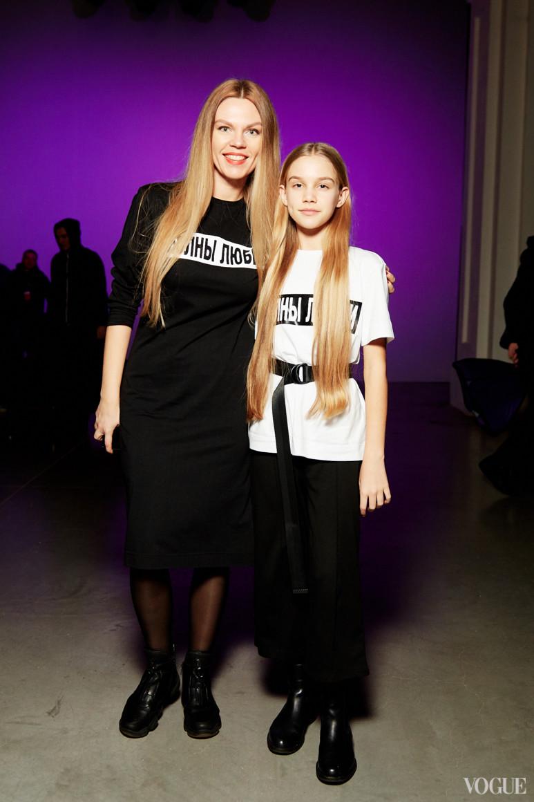 Валерия Толочина с дочерью