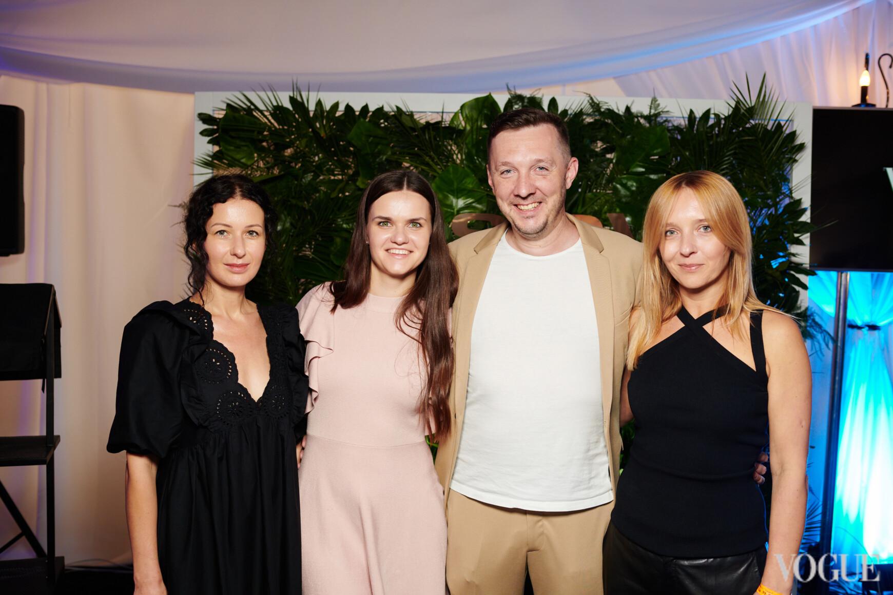 Светлана Рощук, Ярема Ивахив и Наталья Бондарчук