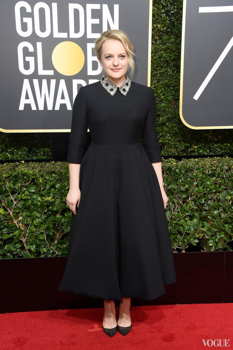Элизабет Мосс в Christian Dior Couture